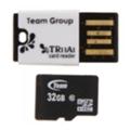 TEAM 32 GB microSDHC Class 10 + Reader TUSDH32GCL1029