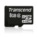 Transcend microSDHC class 2 8Gb