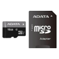 A-data 16 GB microSDHC class 10 UHS-I + SD adapter AUSDH16GUICL10-RA1