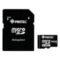 Pretec 16 GB microSDHC Class 10 + SD Adapter