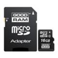 GoodRAM 16 GB microSDHC class 4 + SD Adapter SDU16GHCAGRR9