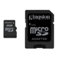 Kingston 2 GB microSD + SD adapter