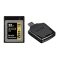 Lexar 32 GB XQD 2933X Professional + USB 3.0 reader LXQD32GCRBEU2933BN