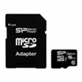 Silicon Power 16 GB microSDHC UHS-I U3 Superior + SD adapter SP016GBSTHDU3V10-SP