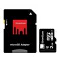 Strontium 2 GB microSDHC Class 6 + SD adapter SR2GTFC6A
