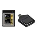 Lexar 64 GB XQD 2933X Professional + USB 3.0 reader LXQD64GCRBEU2933BN