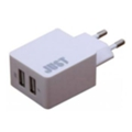 Just Core Dual USB Wall Charger (3.4A/17W, 2USB) White (WCHRGR-CR-WHT)