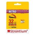 Strontium 32 GB microSDHC Class 10 USH-I Nitro SRN32GTFU1R