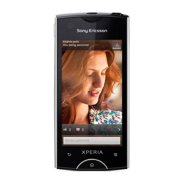 Sony Ericsson Xperia ray Black
