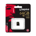 Kingston 64 GB microSDXC class 10 UHS-I SDCA10/64GBSP