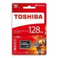 Toshiba 128 GB microSDXC Class 10 UHS-I U3 Exceria + SD adapter THN-M302R1280EA