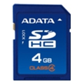 A-data 4 GB SDHC Class 4