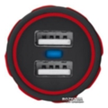 Urban Revolt Dual Smart Car Charger 2 USB 1 А Red (6224631)