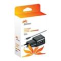 Florence USB 1000mA, cable microUSB Black (TC10-MU)
