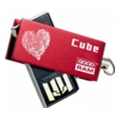 GoodRAM 32 GB Cube Valentine Red PD32GH2GRCURR9+V