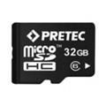 Pretec 32 GB microSDHC Class 6 + SD Adapter (STC32G-SA)