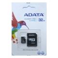 A-data 32 GB microSDHC class 10 + SD adapter