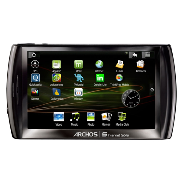 Archos 5 Internet Tablet 160 GB