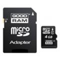 GoodRAM 4 GB microSDHC class 4 + SD Adapter M40A-0040R11
