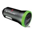 e-Power Автомобильный адаптер 2 USB 2.1 A (EP202CA)