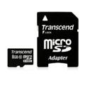 Transcend 8 GB microSDHC class 10 + SD Adapter