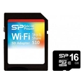 Silicon Power 16 GB microSDHC Class 10 Sky Share + SD adapter SP016GBWSAS10HAK