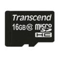 Transcend 16 GB microSDHC class 6 + SD Adapter