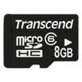 Transcend 8 GB microSDHC class 6 TS8GUSDC6