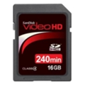SanDisk 16 GB SDHC Video HD