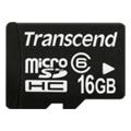 Transcend 16 GB microSDHC class 6 + SD Adapter TS16GUSDHC6