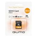 Qumo 16 GB SDHC Class 6 QM16GSDHC6