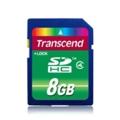 Transcend 8 GB SDHC class 4