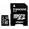 Transcend 8 GB microSDHC class 6 + SD Adapter TS8GUSDHC6