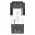 PhotoFast 128 GB i-Flashdrive MAX Gen2 USB 3.0/Lightning White (IFDMAXG2128GB)