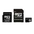 Silicon Power 16 GB microSDHC Class 4 + 2 adapters