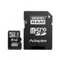 GoodRAM 8 GB microSDHC class 4 + SD Adapter M40A-0080R11