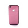 Crystal EGGO iPhone 4 cover pink BackSide