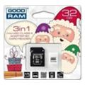 GoodRAM 32 GB microSDHC class 4 Xmas pack USDR432GBR9+X
