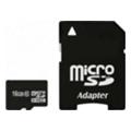 Exceleram 16 GB microSDHC class 10 + SD Adapter MSD1610A