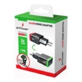 e-Power Сетевой адаптер 2 USB + holder 2.1 A (EP403HA)