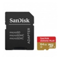 SanDisk 64 GB microSDXC UHS-I U3 Extreme Action + SD adapter SDSQXVF-064G-GN6AA