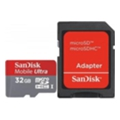 SanDisk 32 GB microSDHC Mobile Ultra + SD adapter (SDSDQU-032G-U46A)