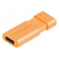 Verbatim 8 GB Store 'n' Go PinStripe 47389 Orange