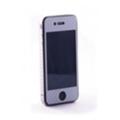 Crystal EGGO iPhone 4 cover silver BackSide