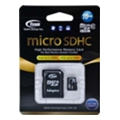 TEAM 16 GB microSDHC Class 10 + SD Adapter TUSDH16GCL1003