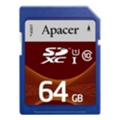 Apacer 64 GB SDXC Class 10 UHS-I AP64GSDXC10U1-R