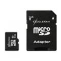 Exceleram 8 GB microSDHC class 10 + SD Adapter MSD0810A