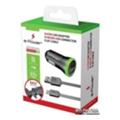 e-Power Автомобильное зарядное устройство кабель MicroUSB + 2 USB 2.1 A (EP602CS)