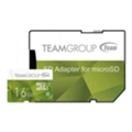 TEAM 16 GB microSDHC UHS-I + SD Adapter TCUSDH16GUHS43