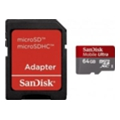 SanDisk 64 GB microSDHC Mobile Ultra + SD adapter (SDSDQU-064G-U46A)